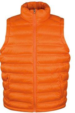 result bodywarmer »herren ice bird - bodywarmer« oranje