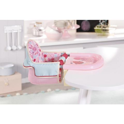 Baby Annabell Lunch Time poppen tafelzitje