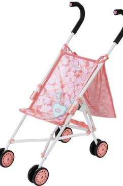 baby annabell »active stroller« poppenbuggy roze