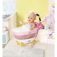 baby born »bath« poppen badkuip roze