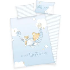 baby best baby-overtrekset »little tiger«, baby best blauw