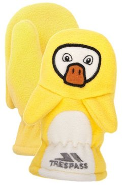trespass wanten »kinder fleece quack« geel