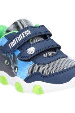 leomil sneakers »jungen how to train your dragon mit klettverschluss« blauw