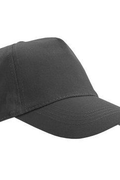sols baseballcap »unisex buzz baseballkappe« grijs