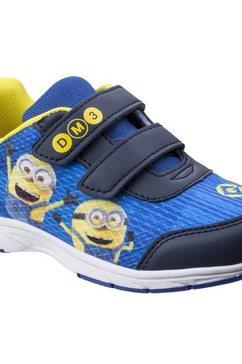 leomil sneakers »kinder turnschuhe mit minions-motiv und klettverschluss« blauw
