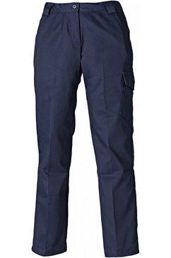 dickies functionele broek »damen redhawk arbeitshose - hose, regulaere laenge« blauw