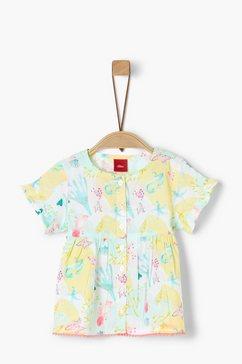 s.oliver blouse met korte mouwen_voor baby's wit
