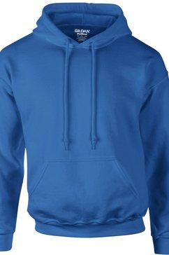 gildan capuchontrui »heavyweight dryblend unisex - hoodie - kapuzensweater« blauw