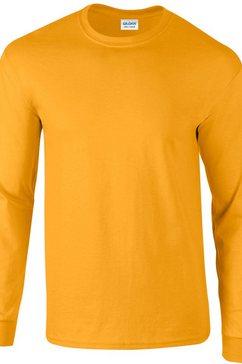 gildan t-shirt »ultra herren mit rundhalsausschnitt, langaermlig« goud