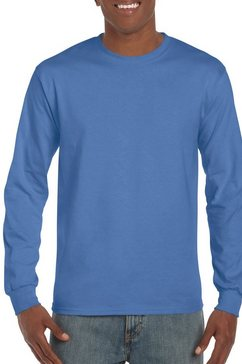 gildan lang sweatshirt »herren langarmshirt hammer« blauw