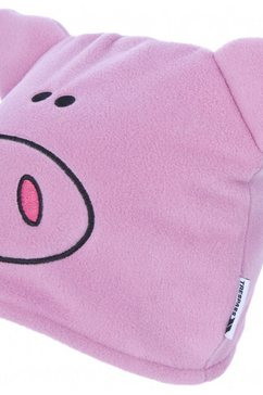 trespass beanie »kinder muetze oinky pig« roze