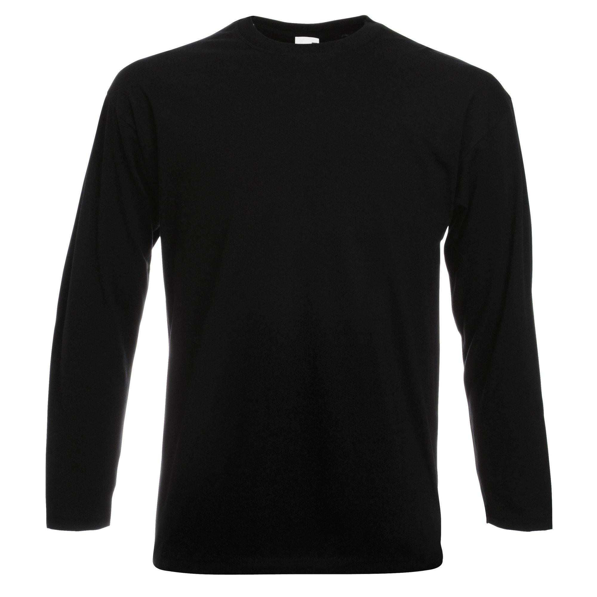 Fruit of the Loom longsleeve »Herren Langarm T-Shirt mit Rundhalsausschnitt« - verschillende betaalmethodes