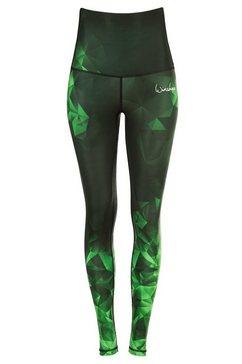 winshape legging »high waist hwl102« groen