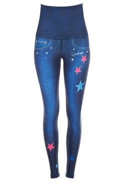 winshape legging »hwl102« blauw