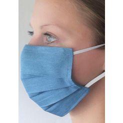 hermann lange collection mond-neusmasker blauw