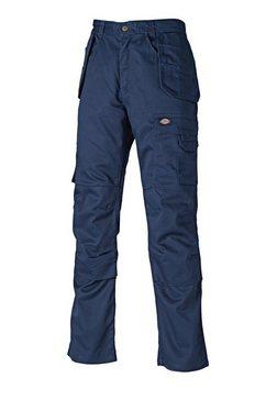 dickies functionele broek »redhawk herren arbeitshose, 86 cm beinlaenge« blauw