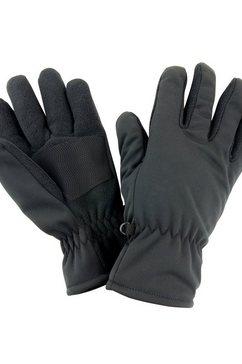 result skihandschoenen uniseks winter thermo handschoenen essentials softshell zwart
