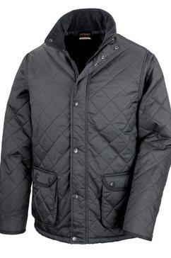 result gewatteerde jas »urban cheltenham herren jacke, wasserabweisend« zwart