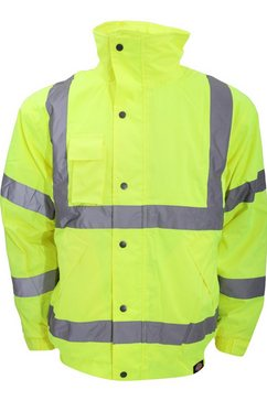 dickies bomberjack »high-visibility bomber jacke (2 stueck-packung)« geel