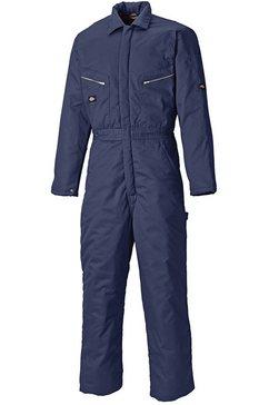 dickies jumpsuit »herren arbeits -« blauw