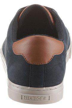 tommy hilfiger sneakers »essential nubuck detail vulc« blauw