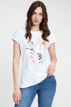 cross jeans t-shirt »55581« wit