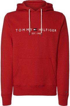 tommy hilfiger hoodie »tommy logo hoody« rood