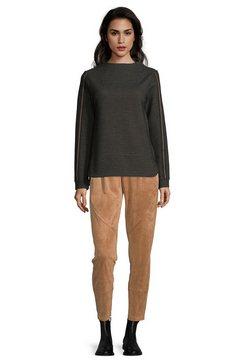 bettyco sweatshirt »mit stehkragen« zwart