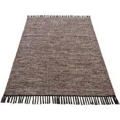 carpetfine vloerkleed »kelim nadi« bruin