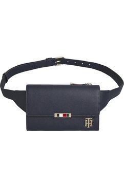 tommy hilfiger heuptasje »saffiano belt bag« blauw