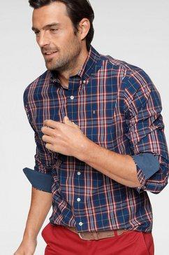 izod overhemd met lange mouwen blauw