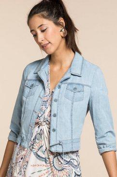 bianca jeansjack »jillis« blauw