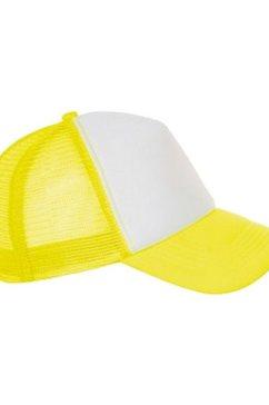1139738110 baseballcap »unisex bubble kontrast kappe« geel