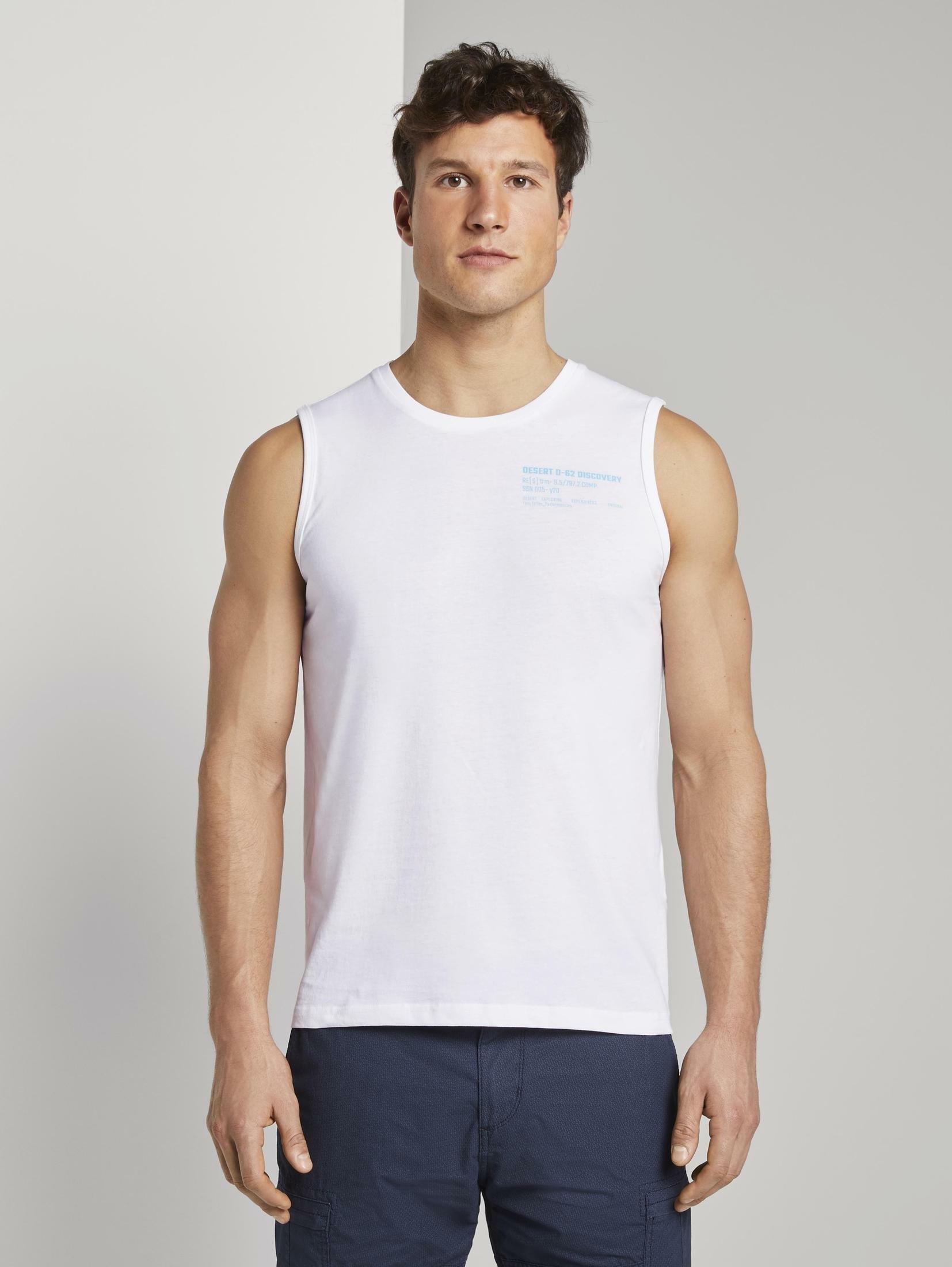 TOM TAILOR functioneel shirt »Tanktop mit Logo-Print« veilig op otto.nl kopen