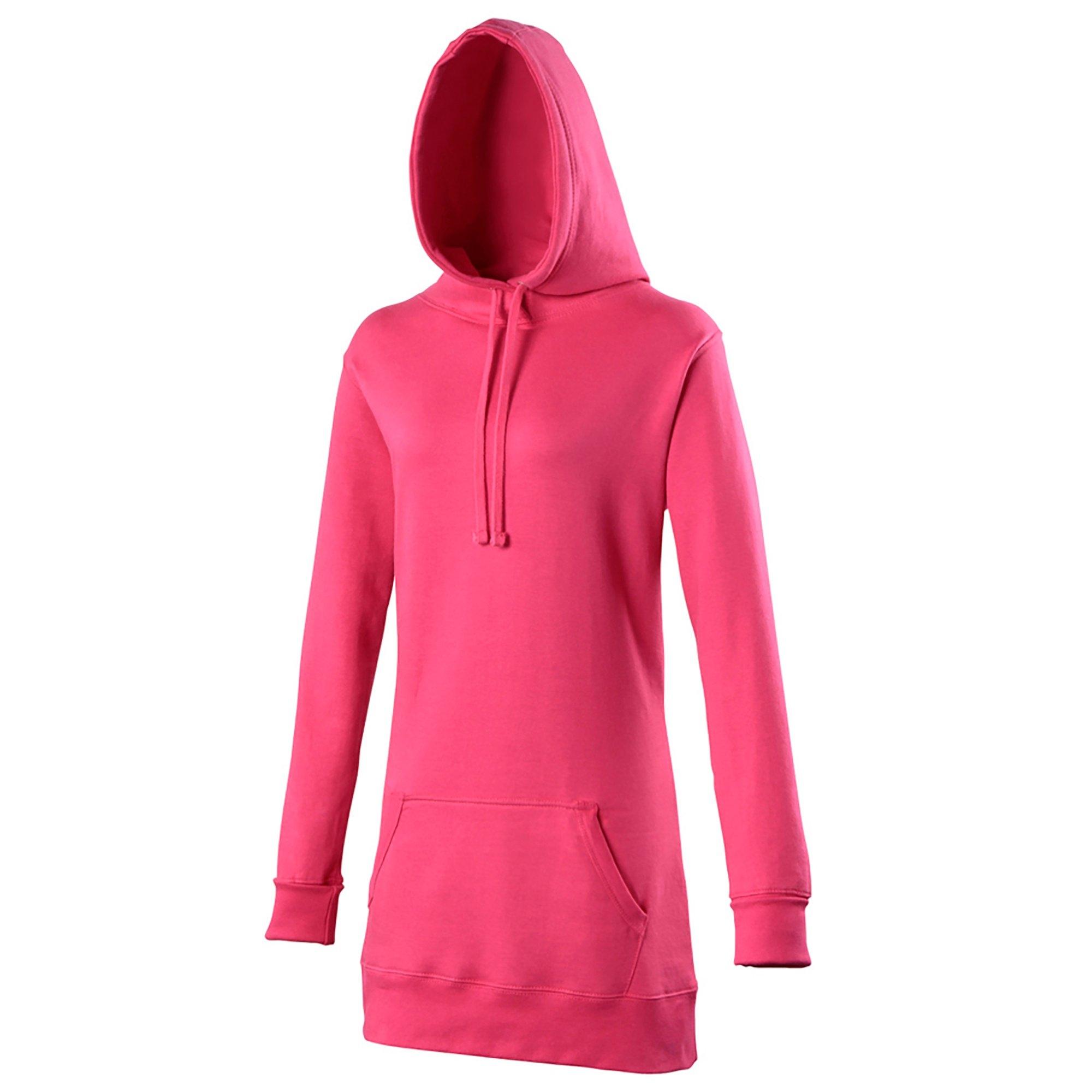 Awdis capuchontrui »Girlie Damen Kapuzen Pullover extra lang« bestellen: 30 dagen bedenktijd
