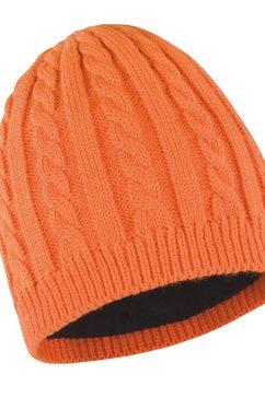 result gebreide muts »unisex winter essentials mariner« oranje