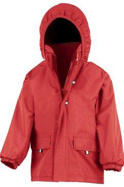1139738112 allweatherjack »kinder unisex jacke mit kapuze« rood