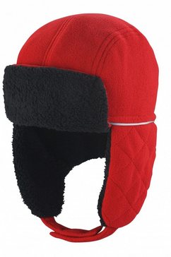 result pet met oorkleppen »winter essentials ocean trapper muetze« rood