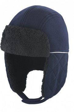 result pet met oorkleppen »winter essentials ocean trapper muetze« blauw