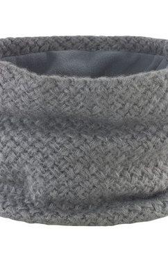 result gebreide sjaal »winter essentials strick-schlauchschal« grijs