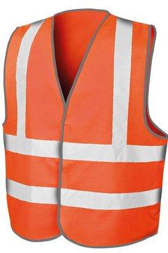 result functionele bodywarmer »core herren warnweste (2 stueck-packung)« oranje