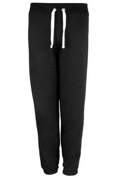 awdis trainingsbroek »damen - jogginghose mit elastischem beinabschluss« zwart