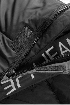 calvin klein gewatteerde jas »colour block puffer jack« zwart