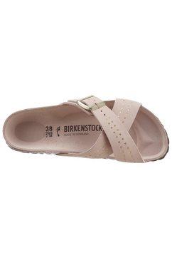 birkenstock slippers »siena« roze