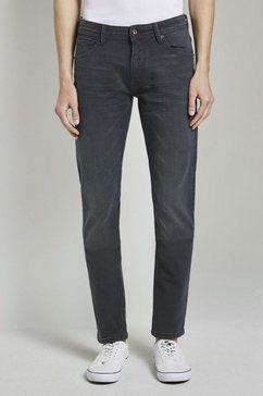 tom tailor denim slim fit jeans »piers super slim jeans« groen