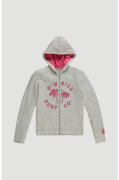 o'neill capuchonsweatvest »easy full zip hoodie« wit