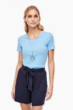 s.oliver t-shirt blauw