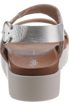 buffalo sandalen »jacky« zilver