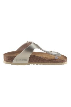 birkenstock teenslippers »gizeh inspired electric metallic« goud