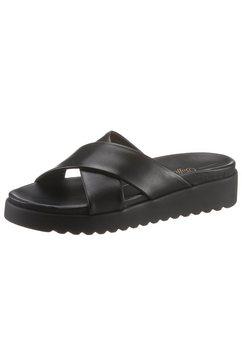 buffalo slippers »javia« zwart
